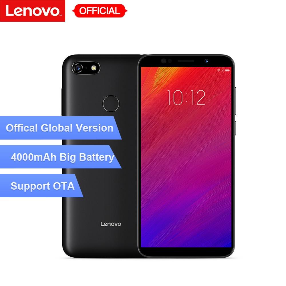 Globale Versione Lenovo A5 3 gb di RAM 16 gb di ROM Del Telefono Mobile MTK6739 Quad Core 5.45 'Smart Phone di Impronte Digitali 4G-LTE Cellulare