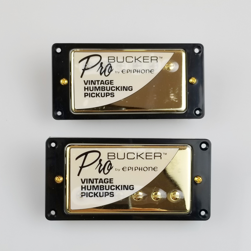 pro guitarra elétrica alnico humbucker captador níquel ouro capa