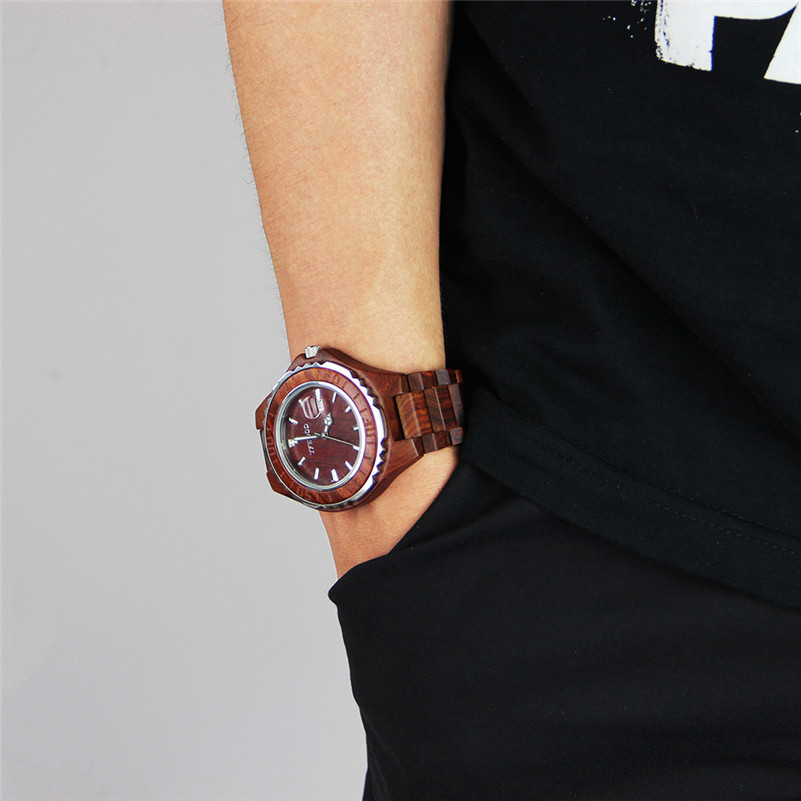 213638e6d97 Aliexpress.com   Buy Lovers Couple Quartz Watch Mens Fashion Wooden Women s  Dress Clock Brand Relogio Reloj Women Wrist Watches Men Hours Gift from  Reliable ...