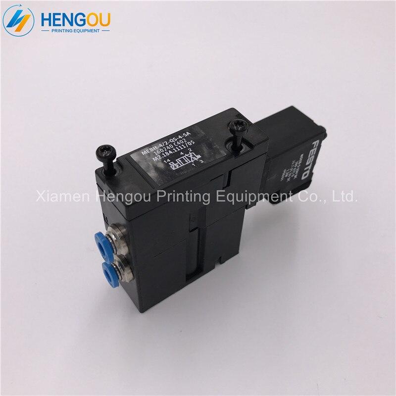 5 pieces high quality solenoid valve for printing machine heidelberg M2.184.1111 цена 2017