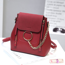 Женский кожаный рюкзак мини кисточкой рюкзак из искусственной кожи Back Pack рюкзаки для девочек-подростков рюкзак сумка