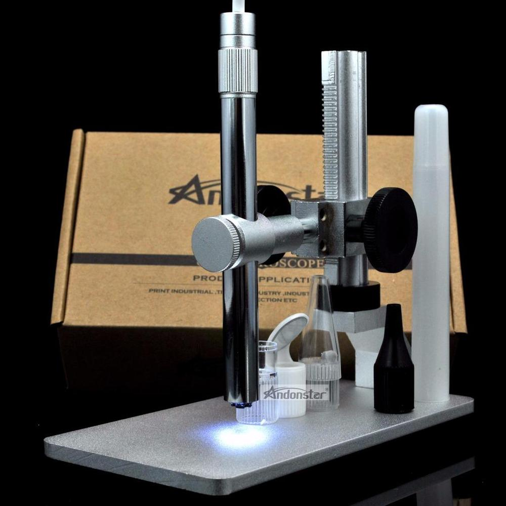 Andonstar V160 usb digital mikroskop 2MP USB Digital Mikroskop Video Kamera Reparatur mit neue metallständer-in Mikroskope aus Werkzeug bei AliExpress - 11.11_Doppel-11Tag der Singles 1