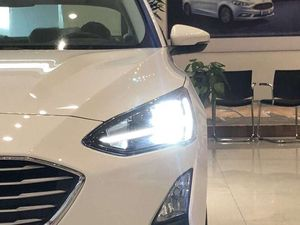 Image 1 - 2 stücke Auto Styling für Ford Focus Scheinwerfer 2019 jahr Focus LED Scheinwerfer DRL Kopf Lampe Engel Bi Xenon Strahl zubehör
