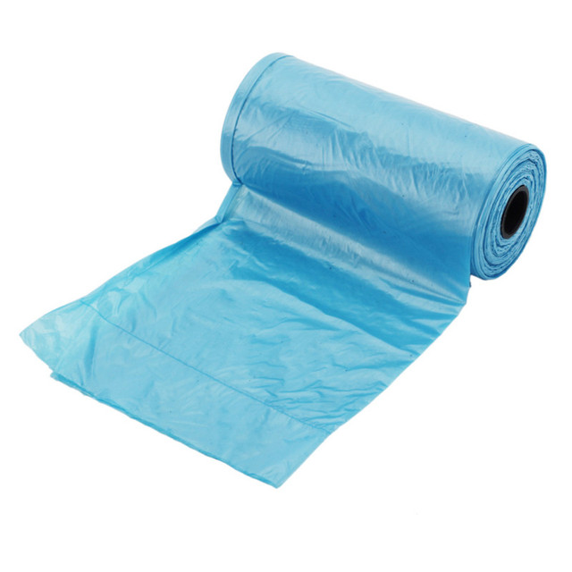 20 Rolls(400Pcs) Pet Dog Waste Poop Bag Dog Cat Waste Pick Up Clean Bag Pet Walking Baby Diapers Household Garbage Bags