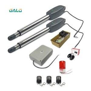 Image 2 - GALO best seller 400kg Heavy Duty Doppio parallelo Boom Battente Apri del Cancello Automatico del motore Aggiunto antigelo del liquido