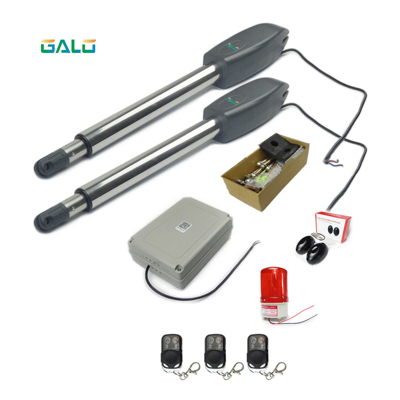 GALO best seller 400kg Heavy Duty Dual parallel Boom Automatic Swing Gate Opener motor Added antifreezing fluid дырокол deli heavy duty e0130