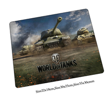 World of tanks mouse pad Boy Present pad to mouse notbook laptop mousepad locked edge gaming padmouse gamer to laptop computer mouse mats