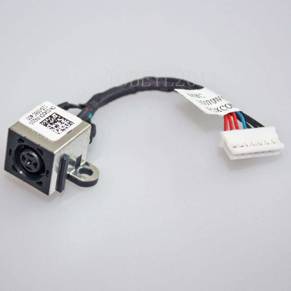 Aliexpress.com : Buy AC DC POWER JACK SOCKERT WITH CABLE HARNESS ...