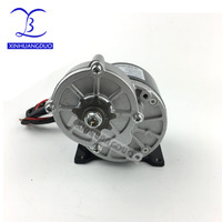 250w 24v 36V gear motor brush motor electric tricycle DC gear brushed motor Electric bicycle motor, MY1016Z2