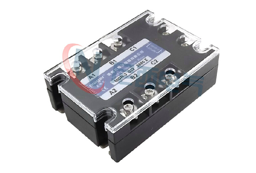 mager Three-phase solid state relay DC control AC MRSSR-3 MGR-3 032 3880Z 80A free shipping mager 10pcs lot ssr mgr 1 d4825 25a dc ac us single phase solid state relay 220v ssr dc control ac dc ac