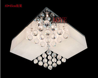 45 45 Cm Optional Halogen Tungsten Lamp LED Lamp Dome Light Acrylic Lampshade Light Crystal Absorb