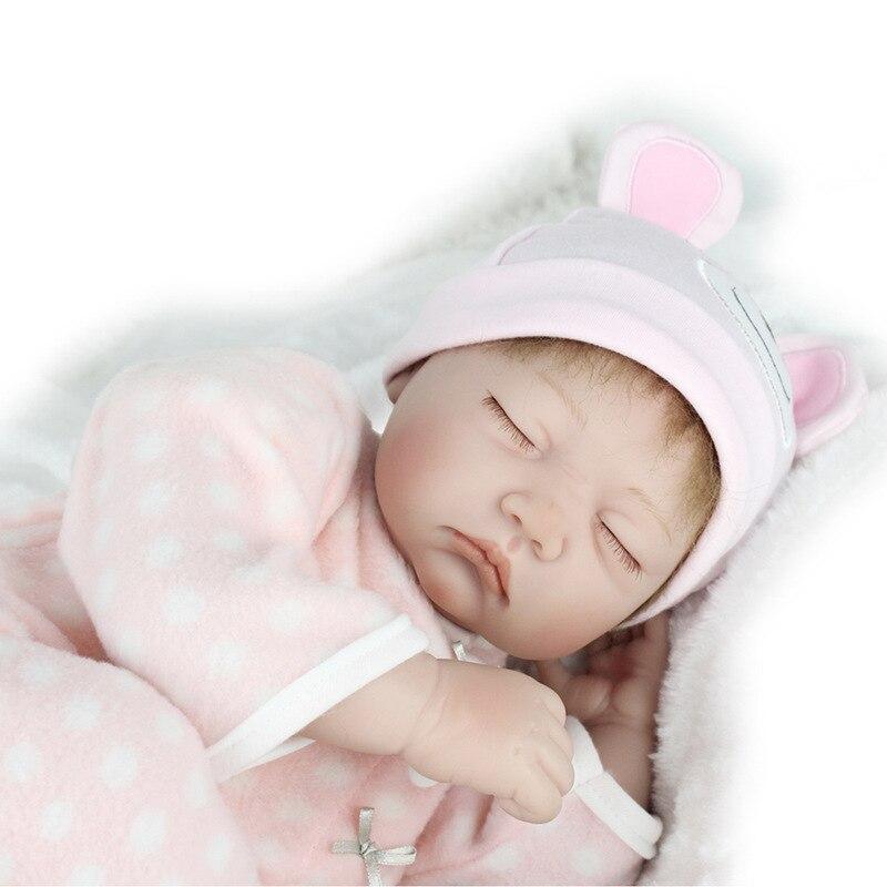 Silicone reborn bébé poupées garçons filles garçon yeux fermés doux corps dormir bébés réaliste 55 cm 22 pouces jouets pour enfant mère cadeau