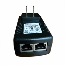 POE Adapter 48V-0.5A Wall Plug Poe power supply for IP Phone Cctv Security Ip Cameras pack of 2pcs