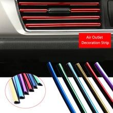 Car Interior Moulding Strips Air Vent Decoration Line For Skoda Superb Octavia A7 2 Fabia Rapid Yeti Citroen C4 C5 Grand Picasso