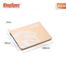 KingSpec SSD 480 ГБ 2,5 SATA 480 ГБ SSD SATA III 500 Гб SSD hdd Внутренний твердотельный накопитель Золотой Металл для настольного ноутбука ПК подарок