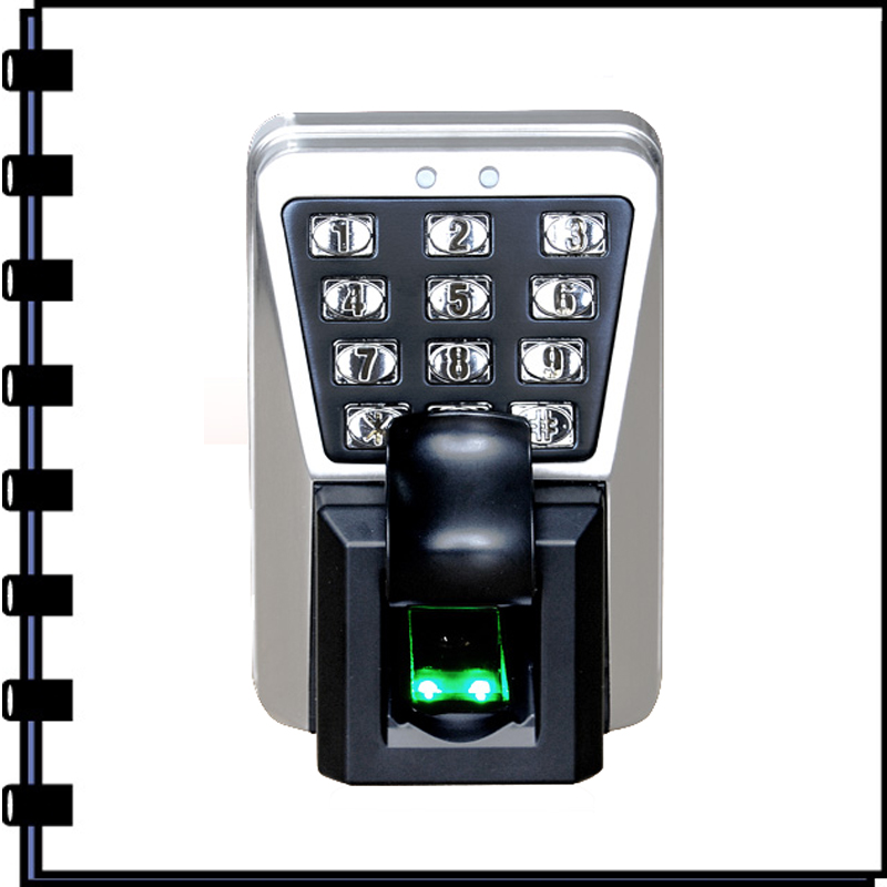 Biometric Security System ZK TF1100 Biometric Fingerprint And Rfid Card Access Control Waterproof kepad Door Security System zk tf1700 ip65 waterproof biometric fingerprint access control system 125khz rfid card access controller with rj45 communication