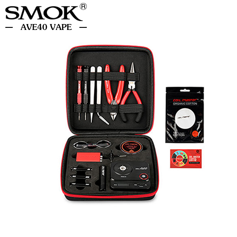 Original CoilMaster V3 kit New Tool bag E Cigarette Accessories All in one DIY Device rebuild