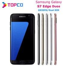 Samsung Galaxy S7 rand G935FD Dual Sim Original Entsperrt LTE Android Handy Octa Core 5,5