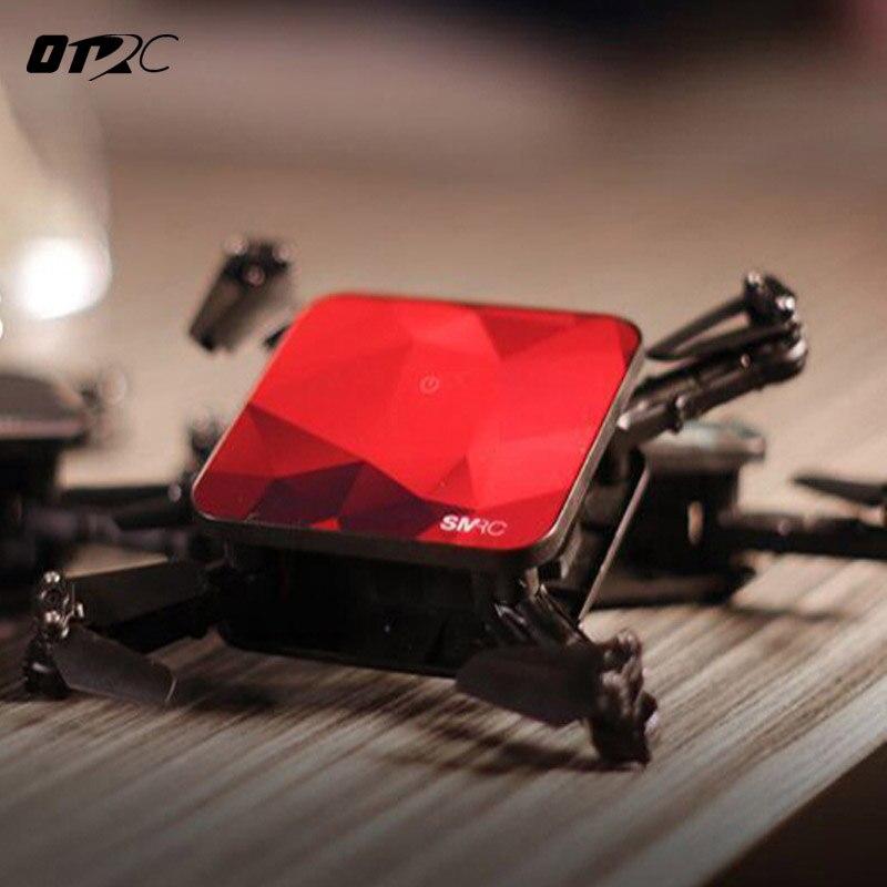 OTRC S1 2.0MP WiFi FPV mini rc drone avec hd wifi caméra de poche Selfie En Temps Réel Hélicoptère Pliant pour Noël jouet garçon cadeau