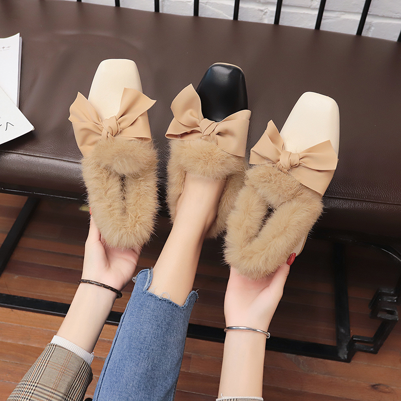 Square Heel Platform Lace-Up Woman Shoes Autumn GRAND Spring Knot PU XWD7193 Butterfly