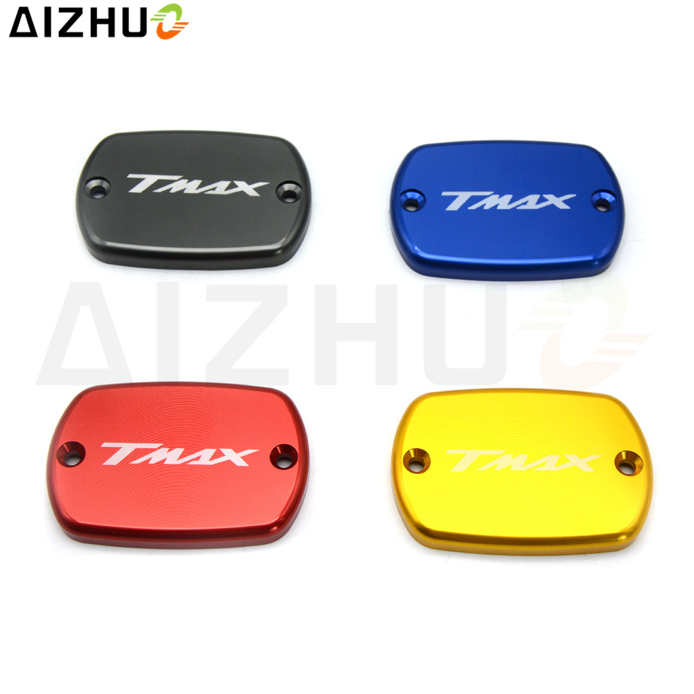 For Yamaha TMAX 500 530 T-MAX TMAX530 TMAX500 Motorcycle Cylinder Fluid Reservoir Cover Cap Motorbike CNC Aluminum Accessories