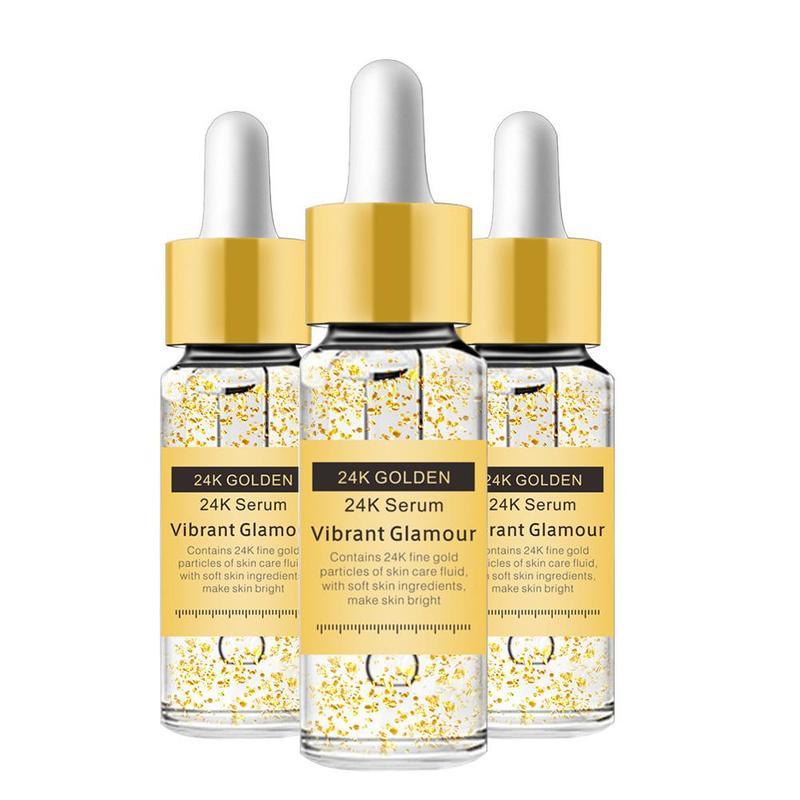 24 Gold K Serum Anti-wrinkle Firming Whitening Essence Anti-aging Facial Serum Moisturizer Lightening Skin Care
