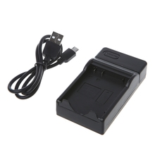 лучшая цена OOTDTY Battery Charger For Nikon EN-EL14 Coolpix P7000 P7100 D3100 D3200 D5100 D5200