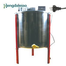 Оборудование для пчеловодства/инструменты из нержавеющей стали 6 кадров авто электрический экстрактор меда/пчелиная ЦЕНТРИФУГА МАШИНА с тремя ногами