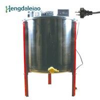 Оборудование для пчеловодства/инструменты нержавеющая сталь 6 кадров авто электрический мёд Extractor/пчела центрифуга с тремя ножками