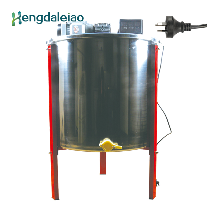 Beekeeping Equipment/Tools Stainless Steel 6 frames Auto Electric Honey Extractor /Bee Centrifuge Machine with Three Legs