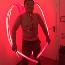 Новые яркие робот с подсветкой щупальце Для мужчин костюмы с подсветкой костюм Костюмы для бальных танцев свет Танцы show платье для танцев Костюмы