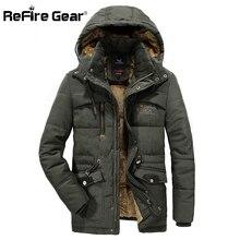 Refire gear зимняя теплая военная куртка мужская армейская куртка с капюшоном для пилота Повседневная Флисовая Подкладка Верхняя одежда тактическая куртка-бомбер