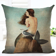 2017Marine Pattern Cushion Cover Linen Decorative Cushion Covers for Sofa Seat Cushion Cover Textile Printing Throw Pillow Cover 2017marine pattern cushion cover linen decorative cushion covers for sofa seat cushion cover textile printing throw pillow cover
