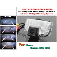 For Nissan Maxima 2003 2014 Intelligent Car Parking Camera With Tracks Module Rear Camera CCD Night