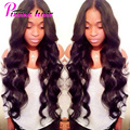 "Peruvian Virgin Hair Body Wave 3 Bundles Unprocessed Virgin Peruvian Body Wave Hair 8''-28"" Grade 8A Peruvian Human Hair Bundles"