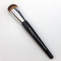 New Long Wood Handle Sweet Heart Big Water Drop Shape Dense Hair Tip No 66 Pro