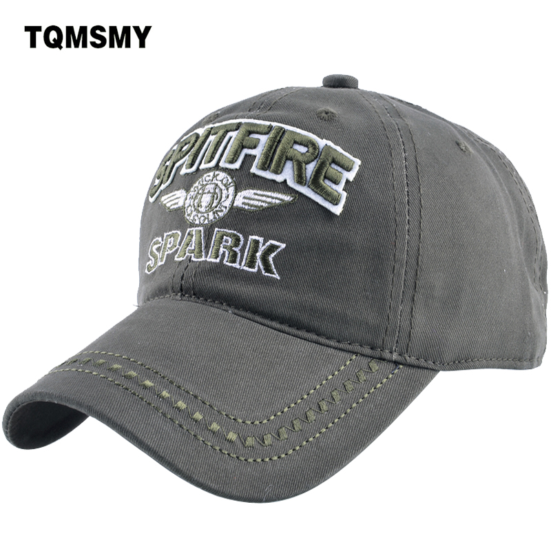 TQMSMY Denim Snapback Hats men Summer Letter SPITFIRE Black Women Baseball Cap Army Sunblock Beisbol Hockeys Caps TMBS03