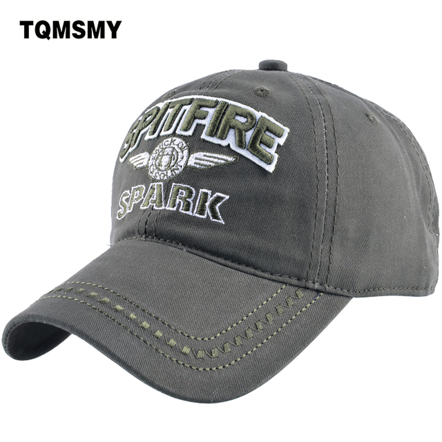 TQMSMY Denim Snapback Hats men Summer Letter SPITFIRE Black Women Baseball  Cap Army Sunblock Beisbol Hockeys Caps TMBS03 8b6e9362c2a7