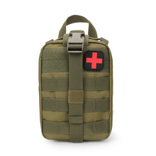 600D Nylon Waterproof Oxford cloth Military Tactical First Aid Kit Pouch outdoor camping hiking Safety Survival