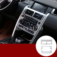 For Land Rover Discovery Sport Inner Console AC & CD Panel Trim Cover 2015 2018 2pcs