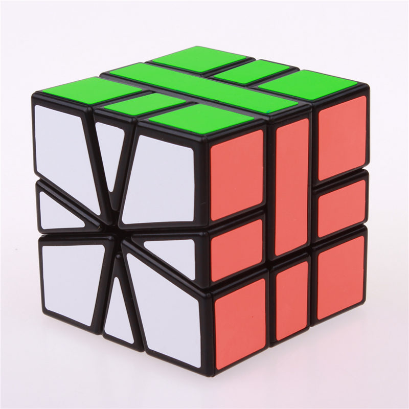 Sheng Shou Square-1 magic speed cube pendidikan profesional 3X3X3 SQ1 - Teka-teki - Foto 1