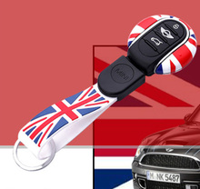 New arrival key cover for mini cooper chaveiro F55 F56 union jackkey holder accessories