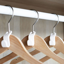 Mini Non Slip Hanger Save Space Hooks Connection Easy Hook Closet Organizer Storage for Clothes Holder
