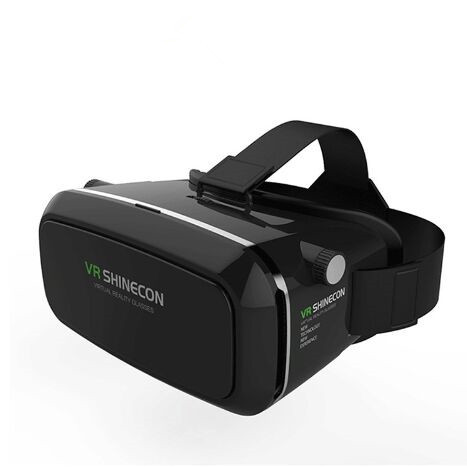 3D VR BOX Virtual Reality Glasses Google Cardboard Head Mount Movies Games For Iphone 4 4s 5 5s 6 6s 6plus 7 3.5 ~ 6 Smartphone