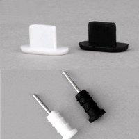10 компл.. пыли Вилки 3,5 мм разъем для наушников + Micro USB зарядки порты и разъёмы Plug кепки для iPhone 5 5S 6 6S мобильного телефона