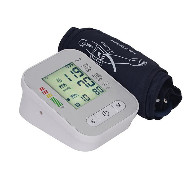 Automatic Digital Upper Arm Blood Pressure Pulse Blood Pressure Monitor A0062