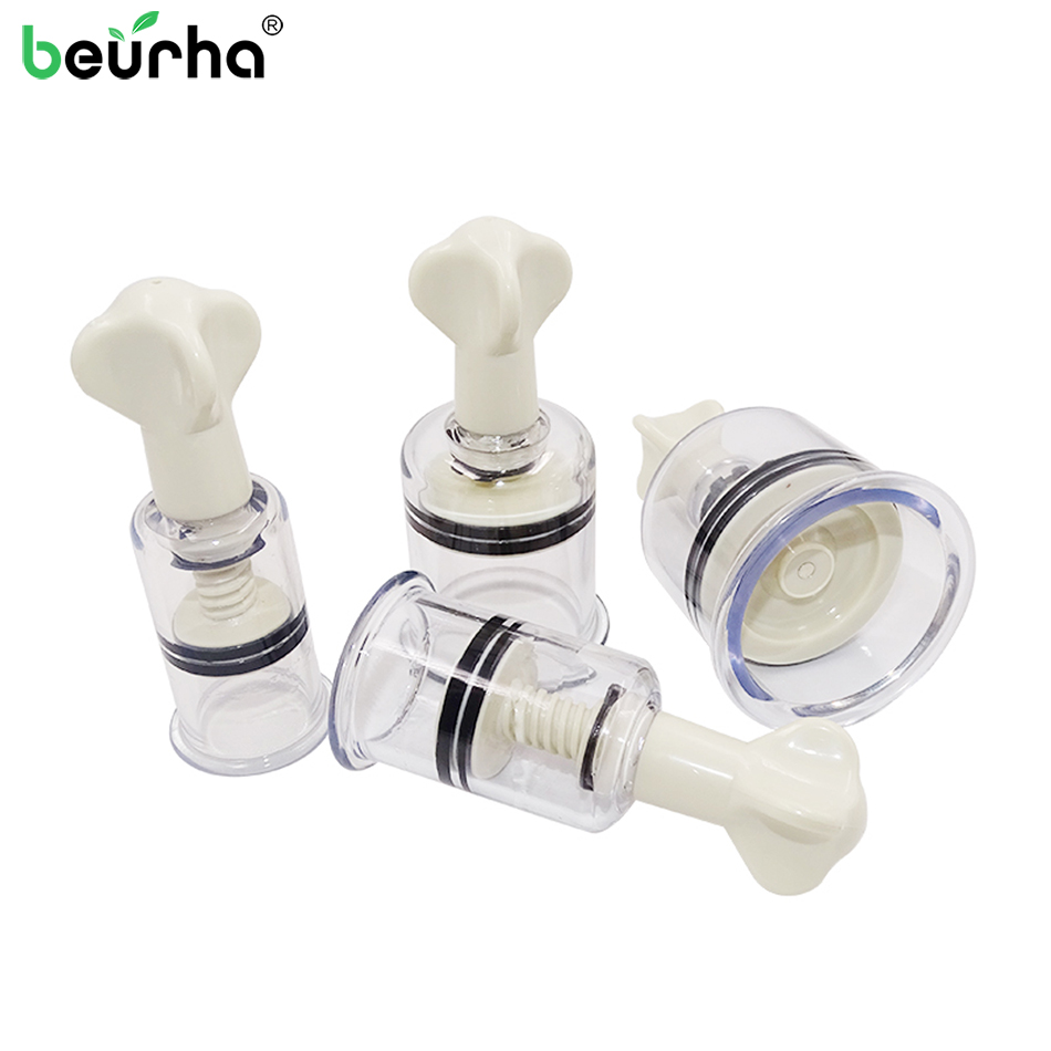 Vacuum Cups Nipple-Enlarger Anti-Cellulite Suction-Enhancer Vacuum-Body-Massage-Cans