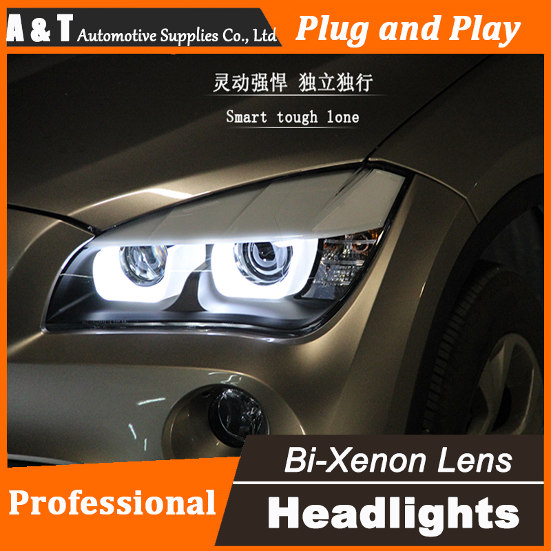 Car Styling Head Lamp for BMW E84 X1 led headlights 2009-2014 E84 led drl H7 hid Bi-Xenon Lens low beam 18mm 20mm 22mm genuine leather watch band quick release strap for ck calvin klein butterfly buckle wrist belt bracelet black