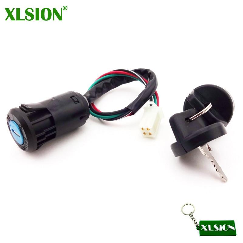 Ignition Key Switch For Chinese Quad ATV 50cc 70cc 90cc 110cc 125cc TaoTao Sunl