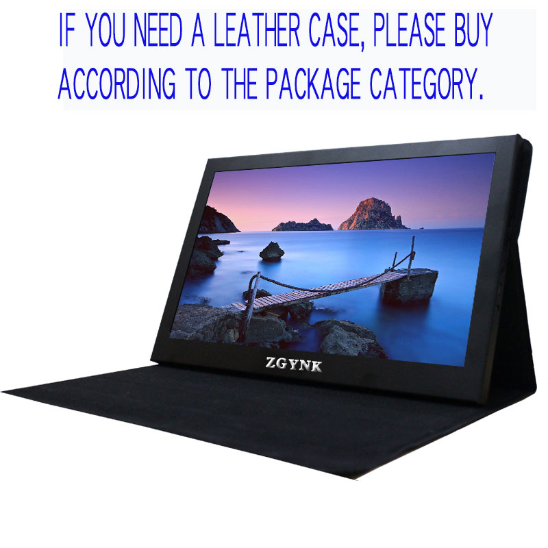 11.6/<font><b>13.3</b></font> inch PS4 portable HD <font><b>display</b></font> ultra-thin dual HDMI <font><b>display</b></font> computer game console expansion screen image